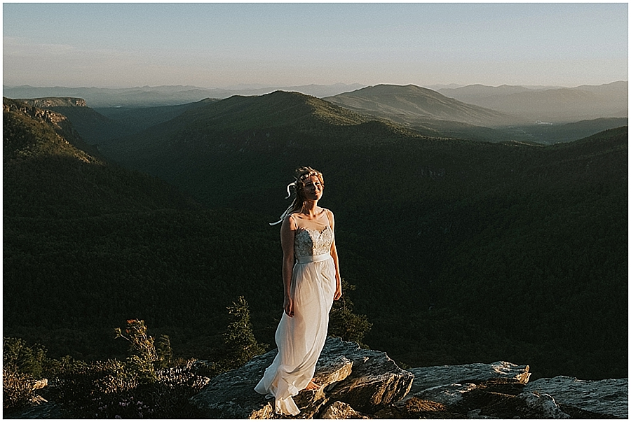 Pisgah Forest wedding Asheville North Carolina