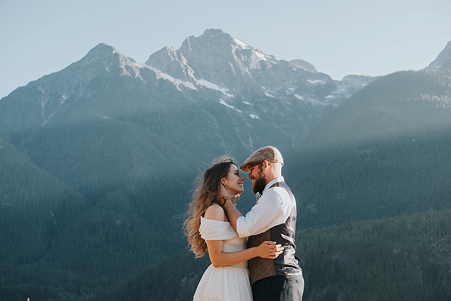 North Cascades National Park wedding