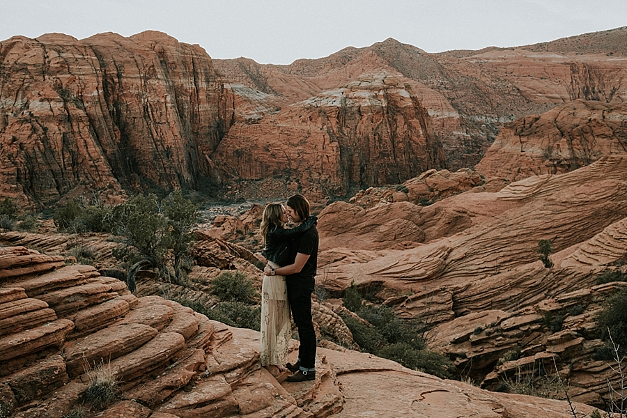 Snow Canyon State Park elopement Utah