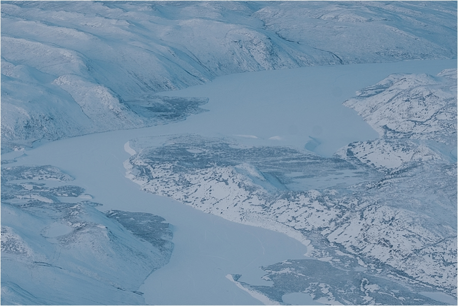 Greenland in winter