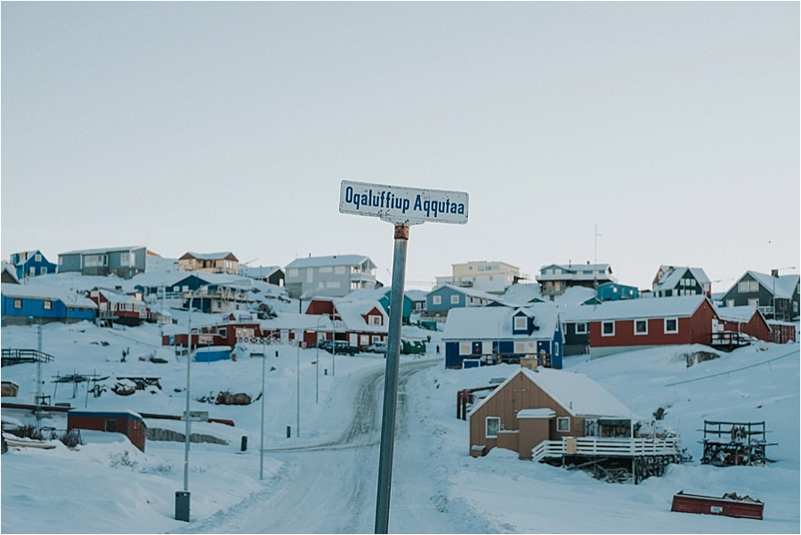 North pole town