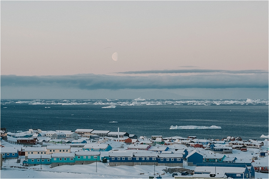 town in arctic circle
