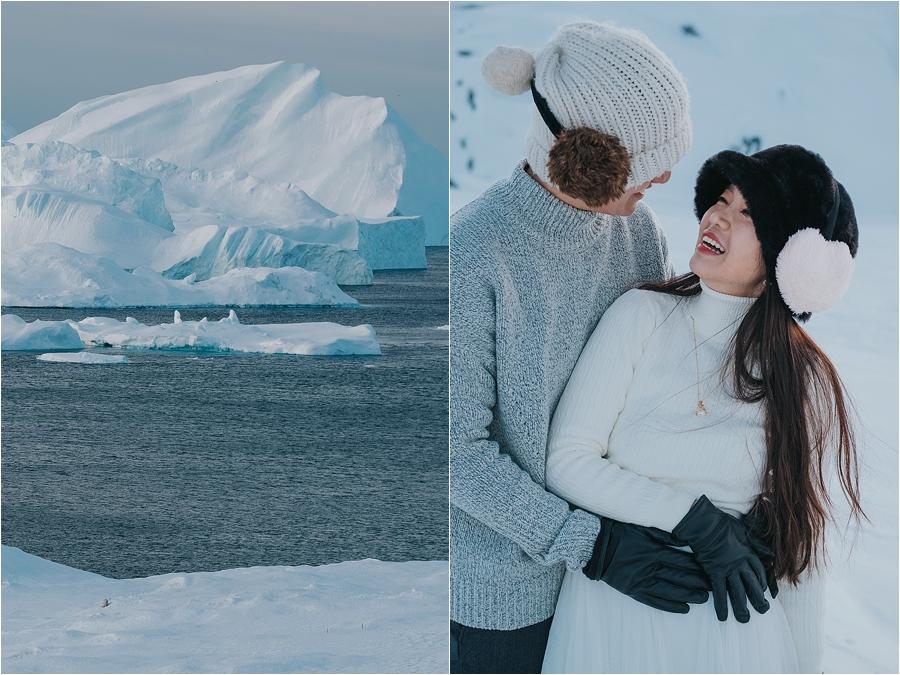 Antarctica elopement