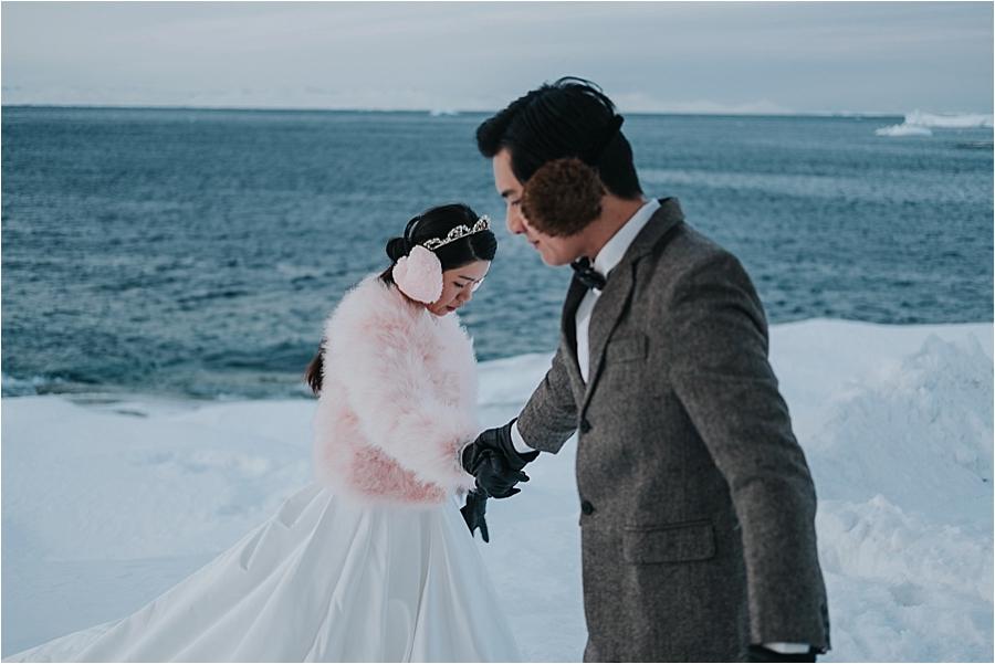 winter destination wedding