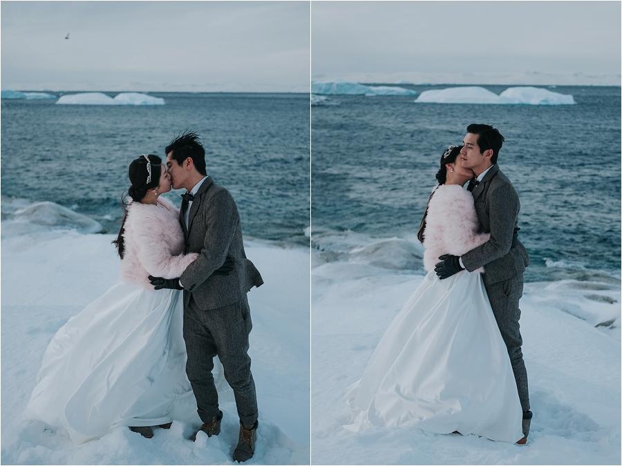adventure winter wedding