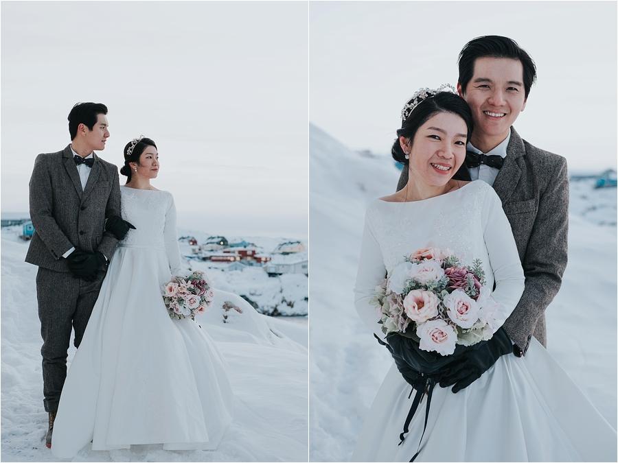 north pole christmas wedding