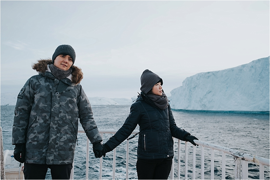 Greenland elopement photographer