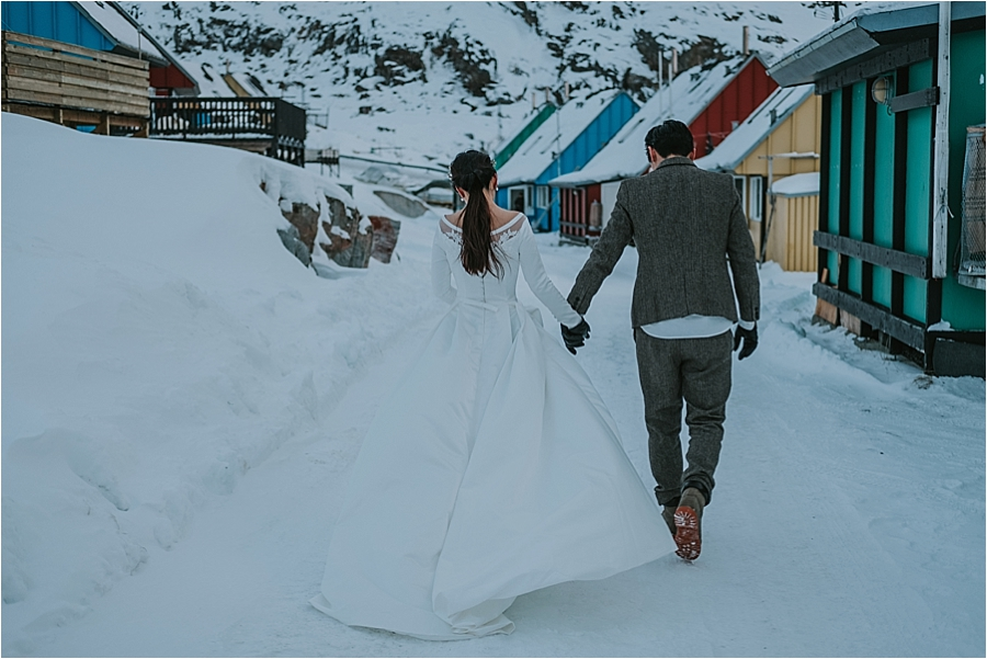 sweden winter elopement