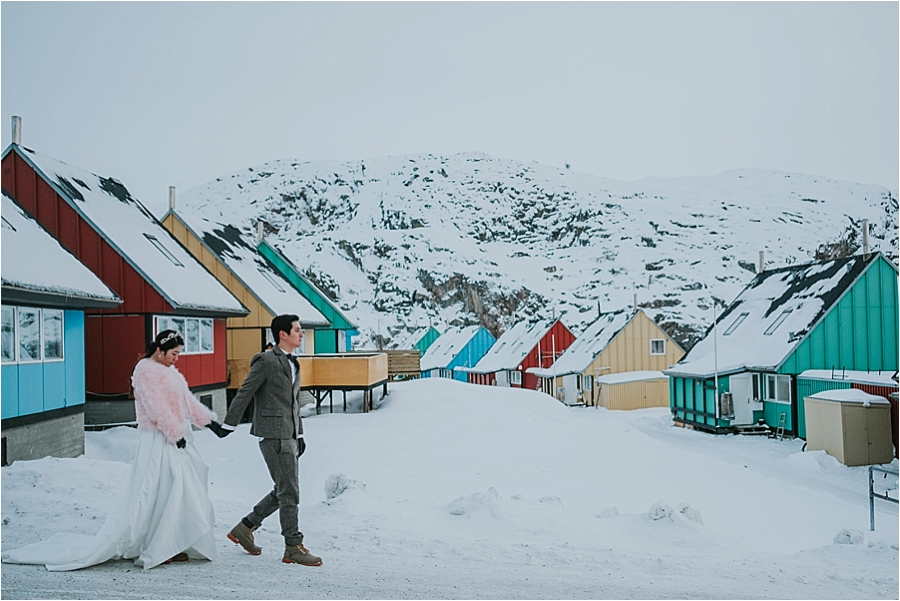 Greenland engagement session
