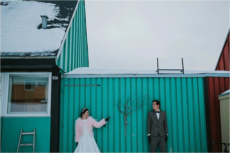 outdoor wedding Iceland
