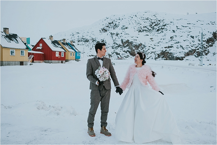 Winter wedding Norway