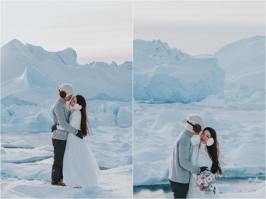 north pole wedding