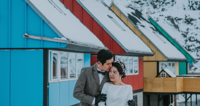 Yeh + Miin | Ilulissat, Greenland Adventure Session Day 2