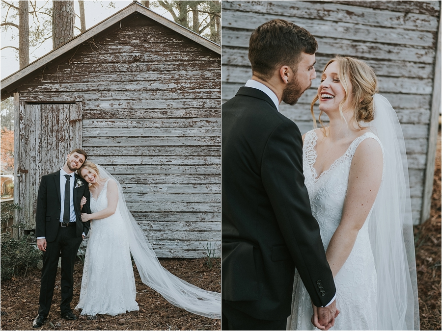 wedding Oaks at Salem