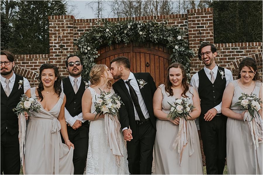 Fun Raleigh NC wedding photographer