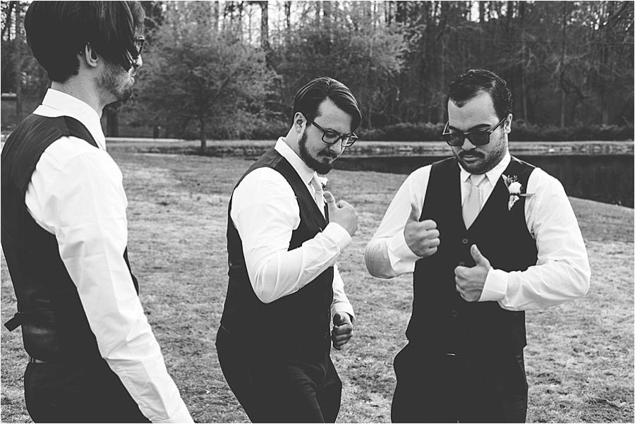 creative Raleigh NC wedding photographer
