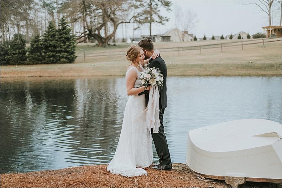 Oaks at Salem Wedding Apex NC