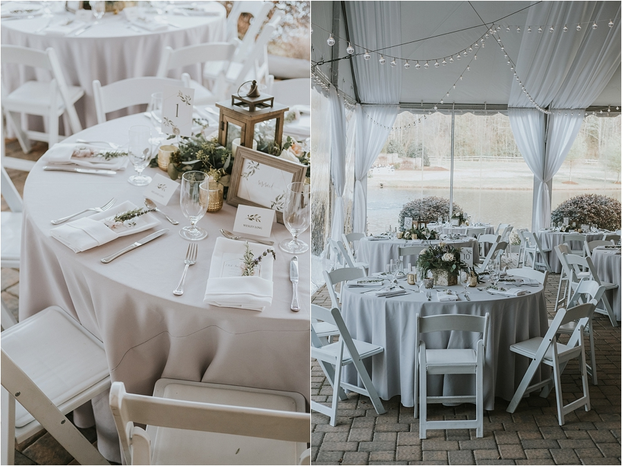 wedding reception Oaks at Salem