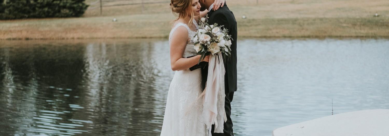 Ashton + Josh | The Oaks at Salem Wedding in Raleigh, NC
