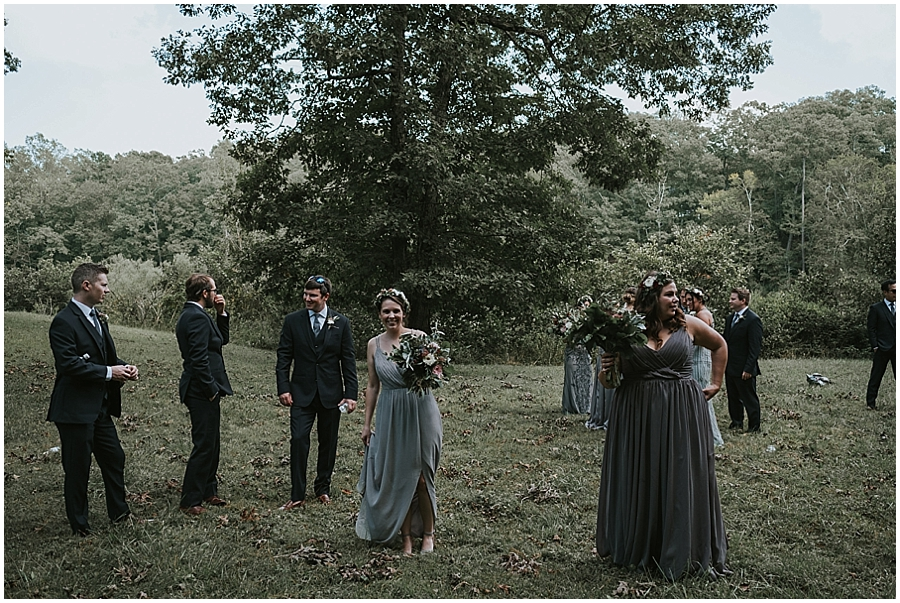 Raleigh wooded outdoor wedding venue
