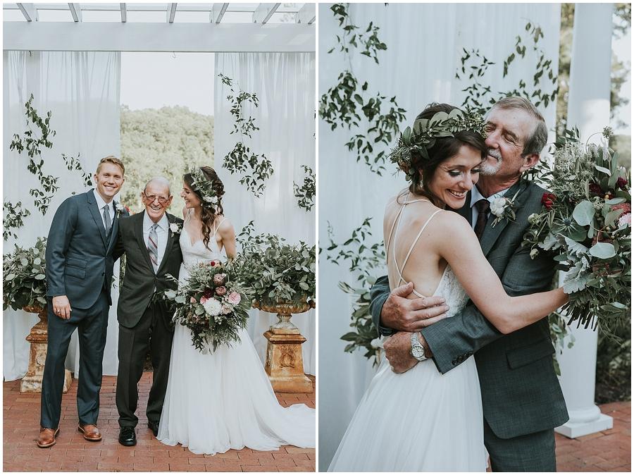 Highgrove estate fuquay varina wedding