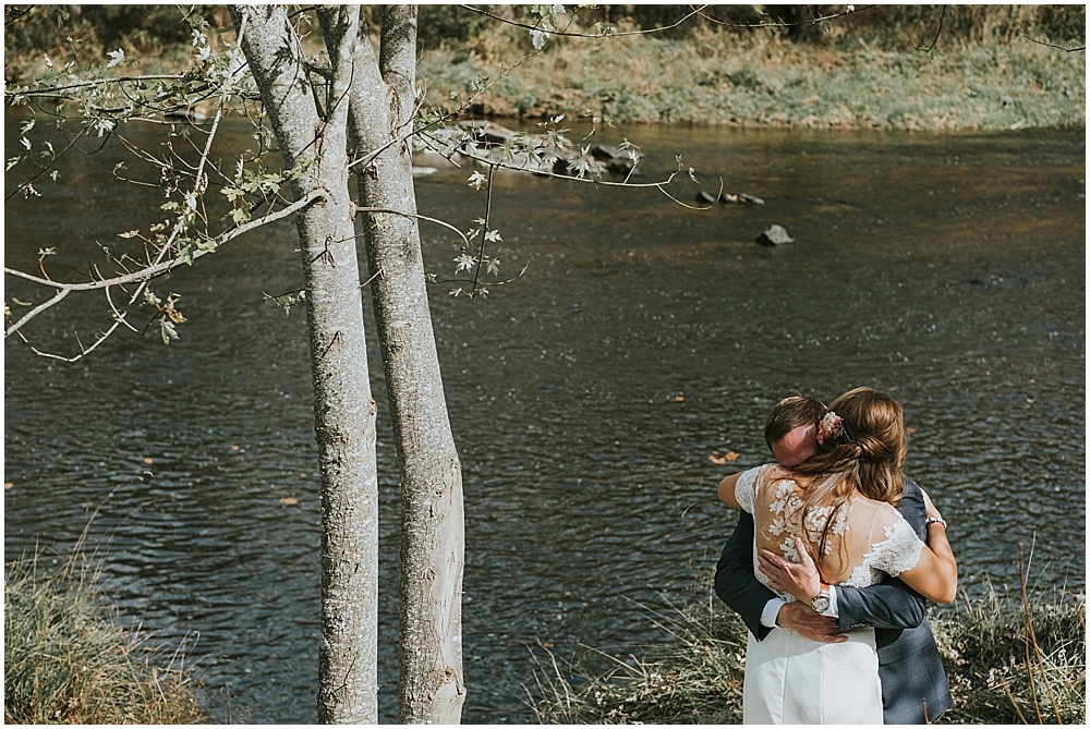 Fines Creek Farm wedding photographer