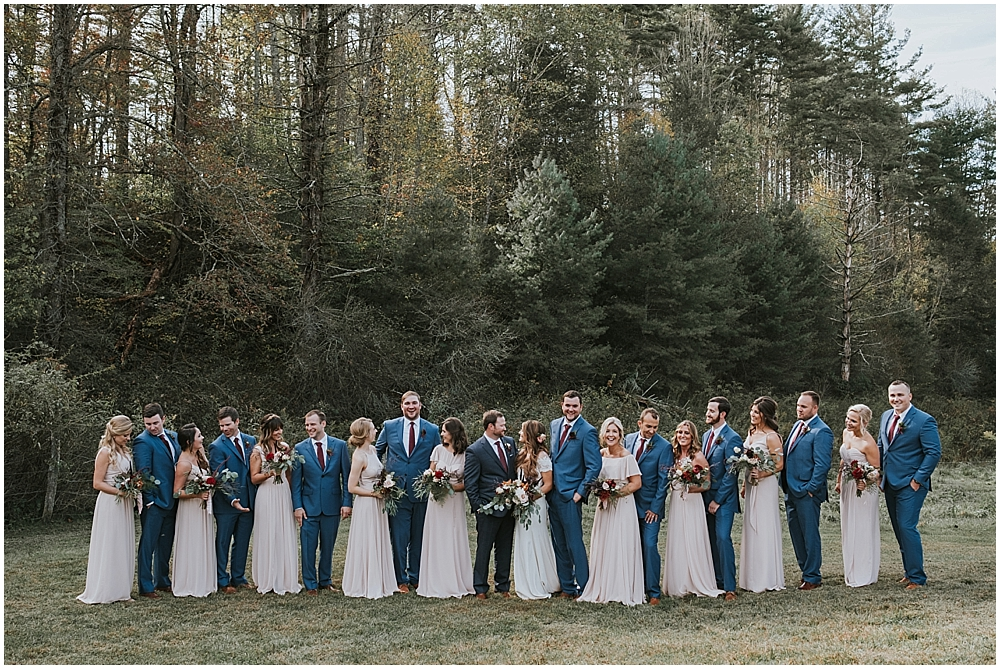 candid Boone, North Carolina wedding photographer