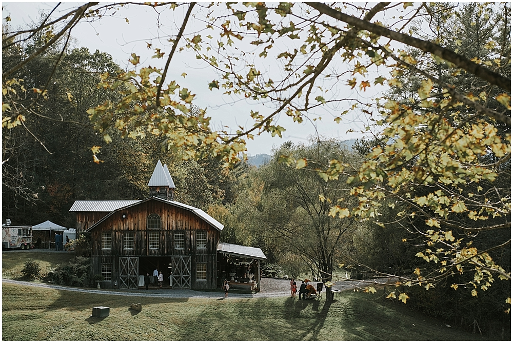 Most beautiful North Carolina mountain wedding venue