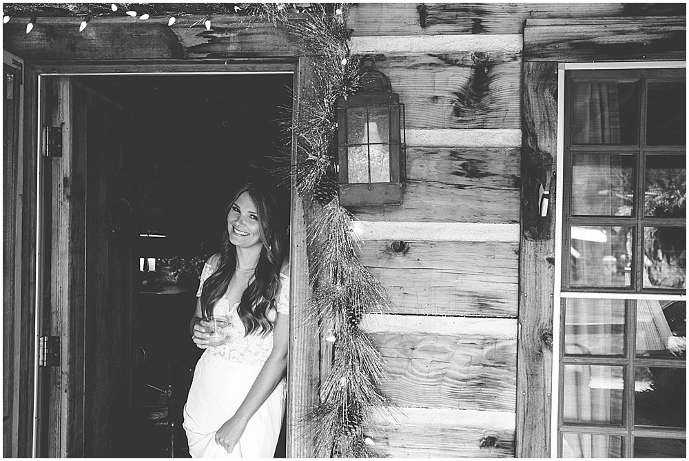 Fines Creek Farm wedding cabin