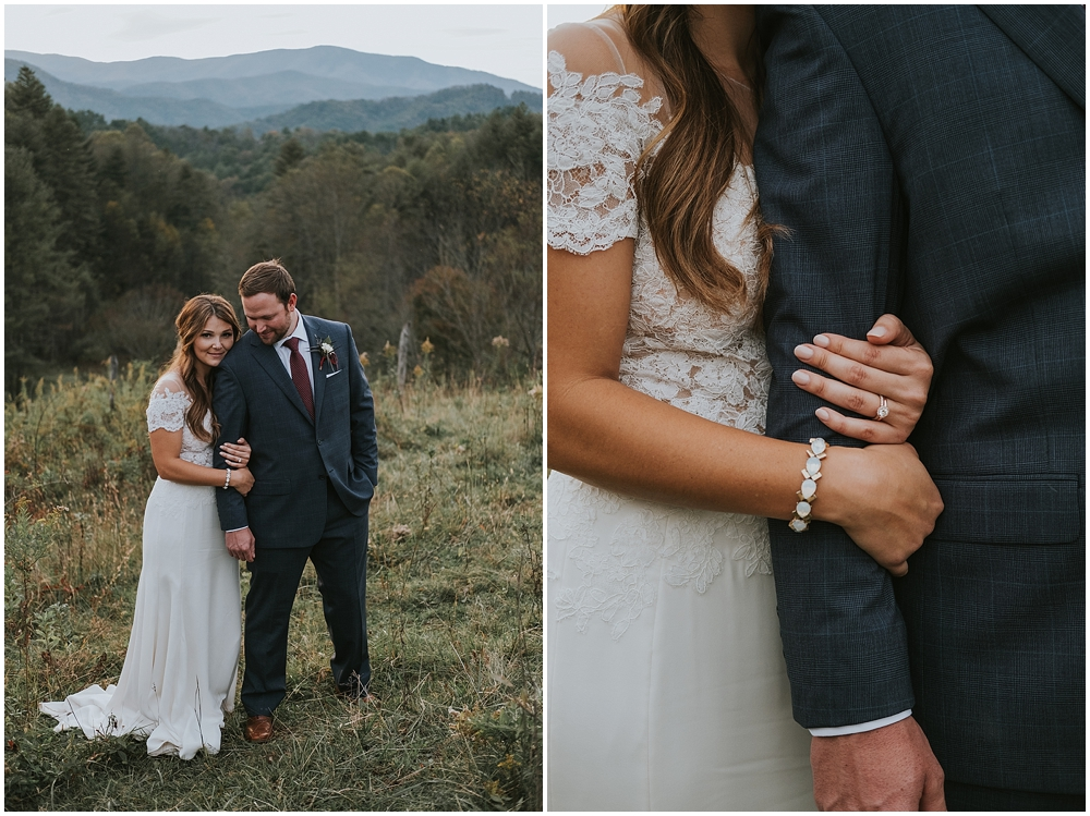 Asheville North Carolina bohemian wedding