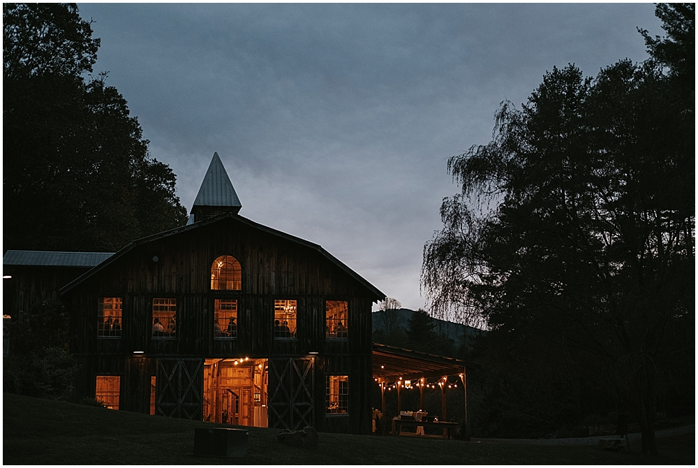 most beautiful wedding venue in North Carolina Blue Ridge Mountains