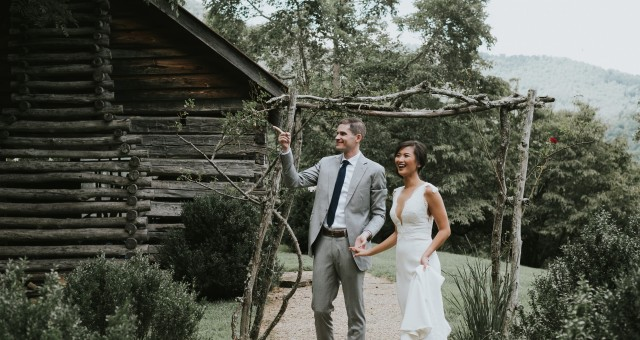 Merrybelle + Patrick | Vineyard Wedding in the North Carolina Blue Ridge Mountains