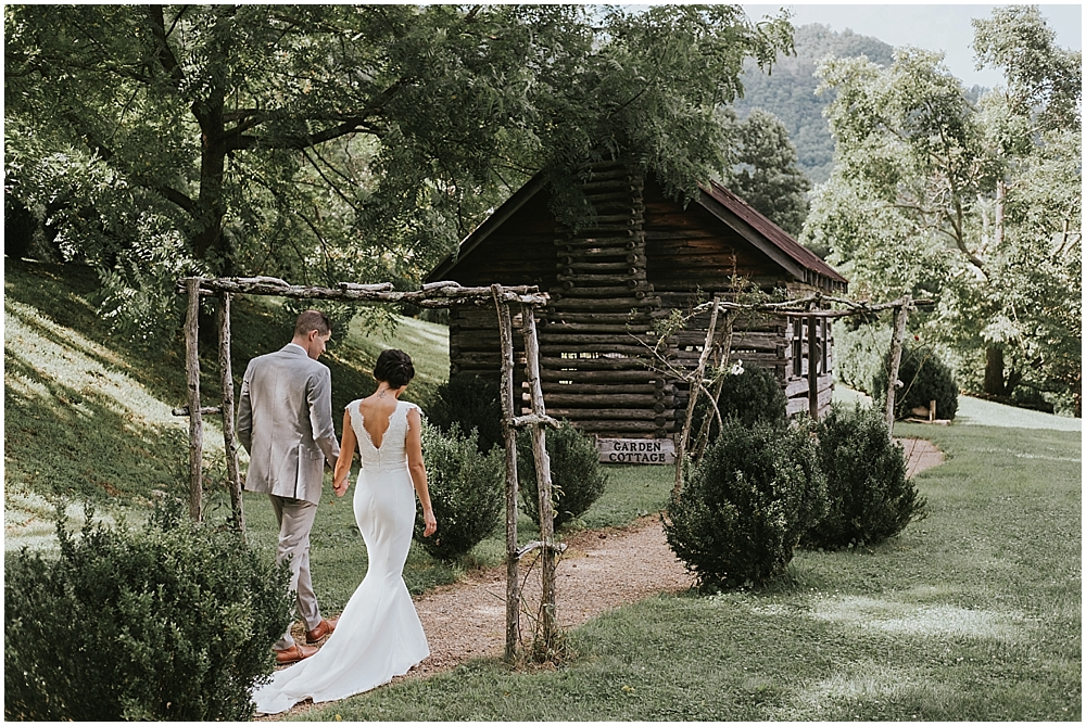 Sylva, North Carolina mountain wedding Vineyards at Betty's Creek