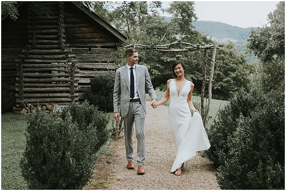 genuine creative wedding photographer asheville nc