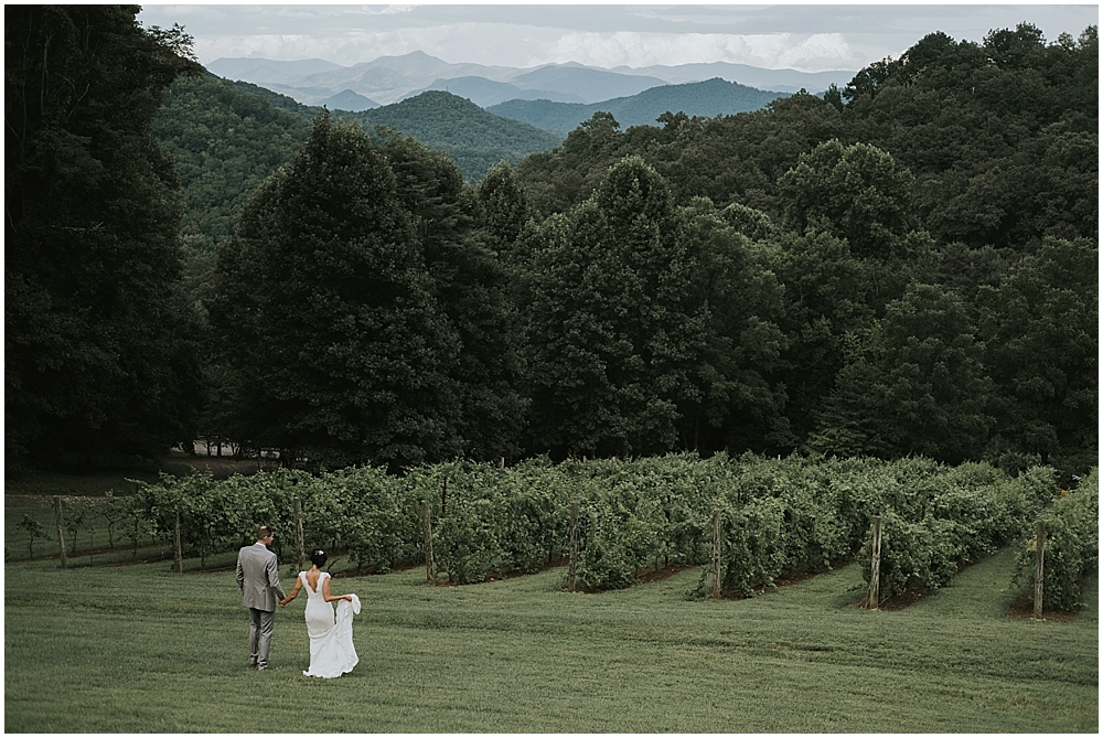 asheville nc scenic mountaintop wedding venue