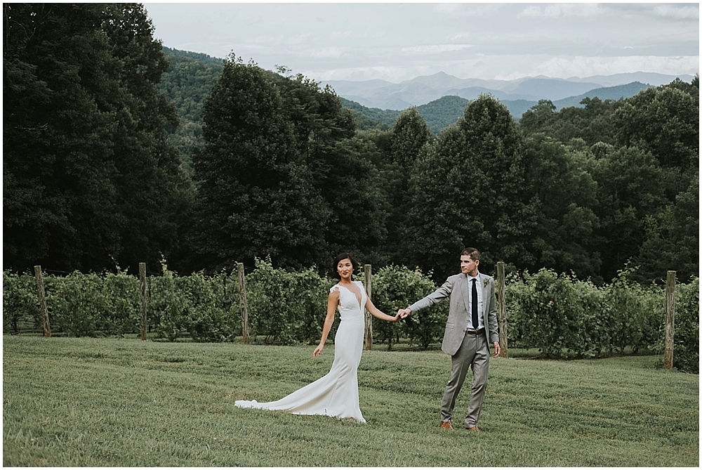 western north carolina scenic mountaintop wedding venue