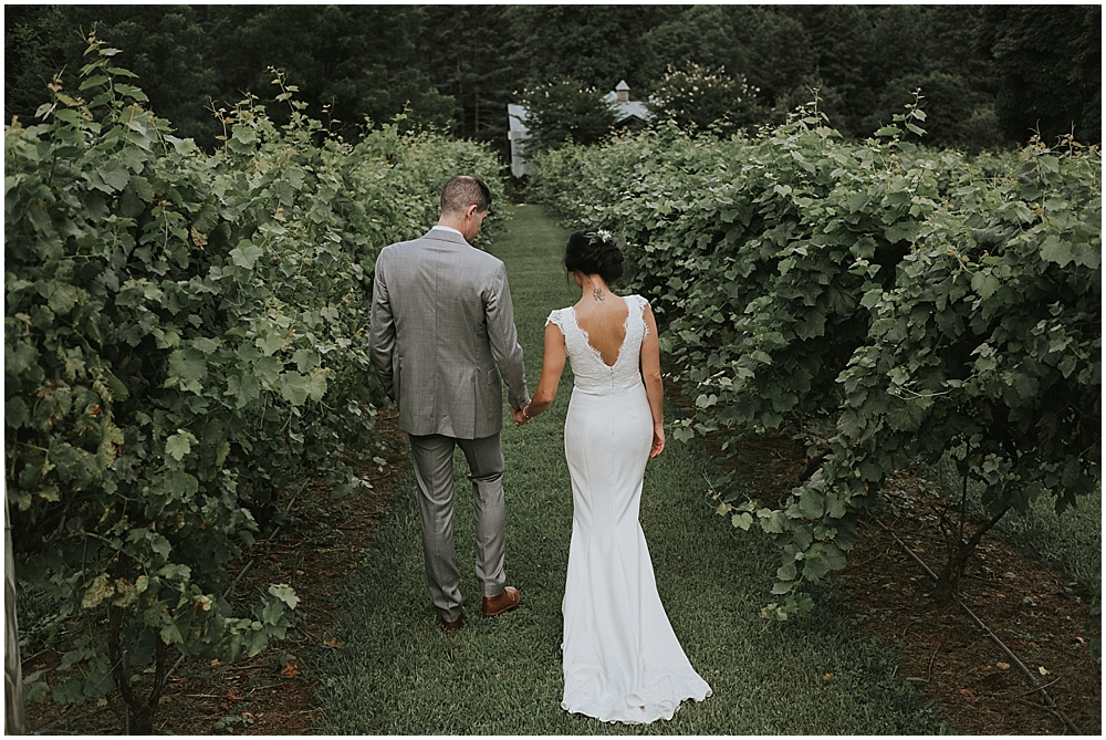 elegant authentic wedding photographer asheville nc