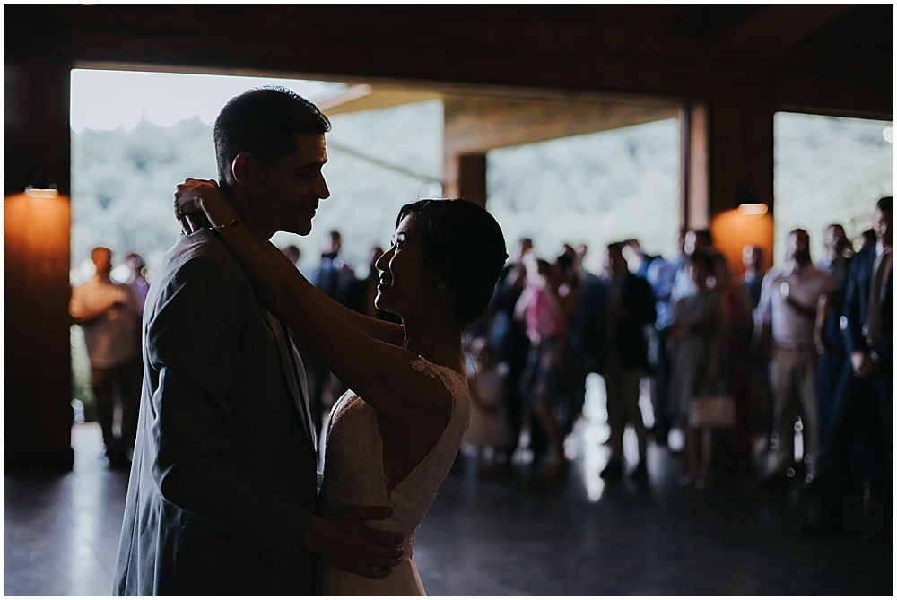 natural light wedding photographer asheville nc