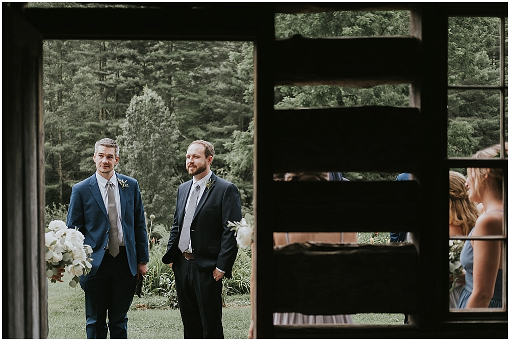 asheville cabin wedding photographer