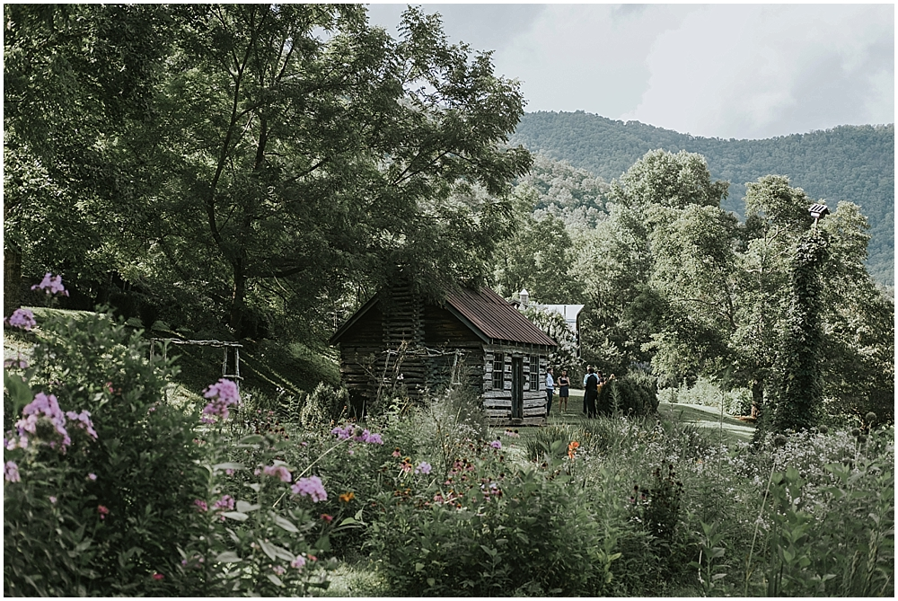 mountain cabin wedding asheville north carolina