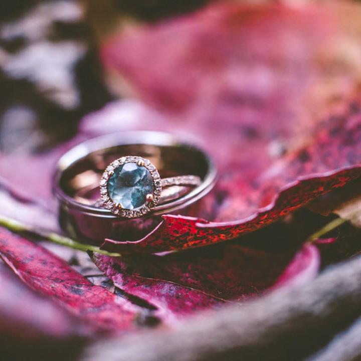 Laura + Neal | Rustic Backyard Wedding