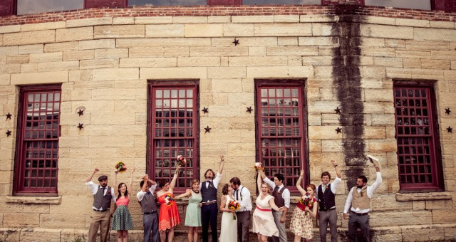 Ben + Becky   Wedding at Two Brothers Roundhouse in Aurora, IL
