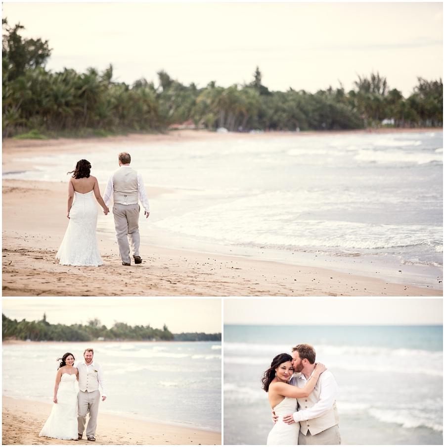 Cathy and Jonathons Beach Sunset Wedding 9524