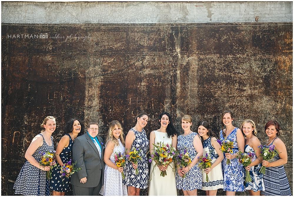 Haw River Ballroom Bridesmaids
