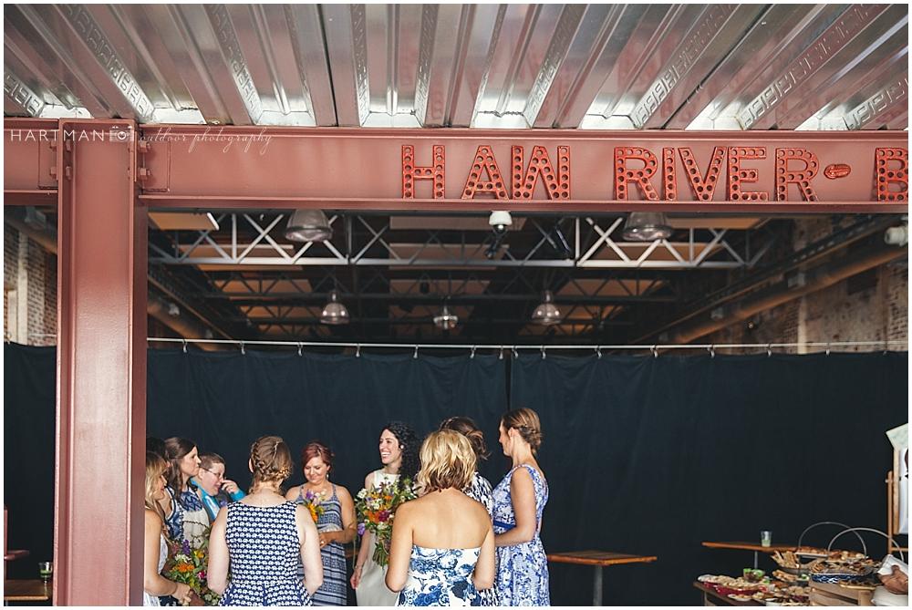 Haw River Ballroom Indoor Ceremony