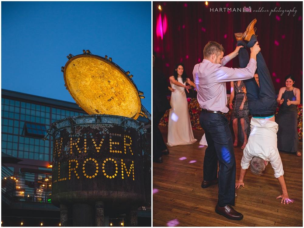 Haw River Ballroom Alternative Wedding