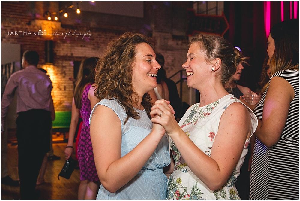 Haw River Ballroom Lesbian Wedding