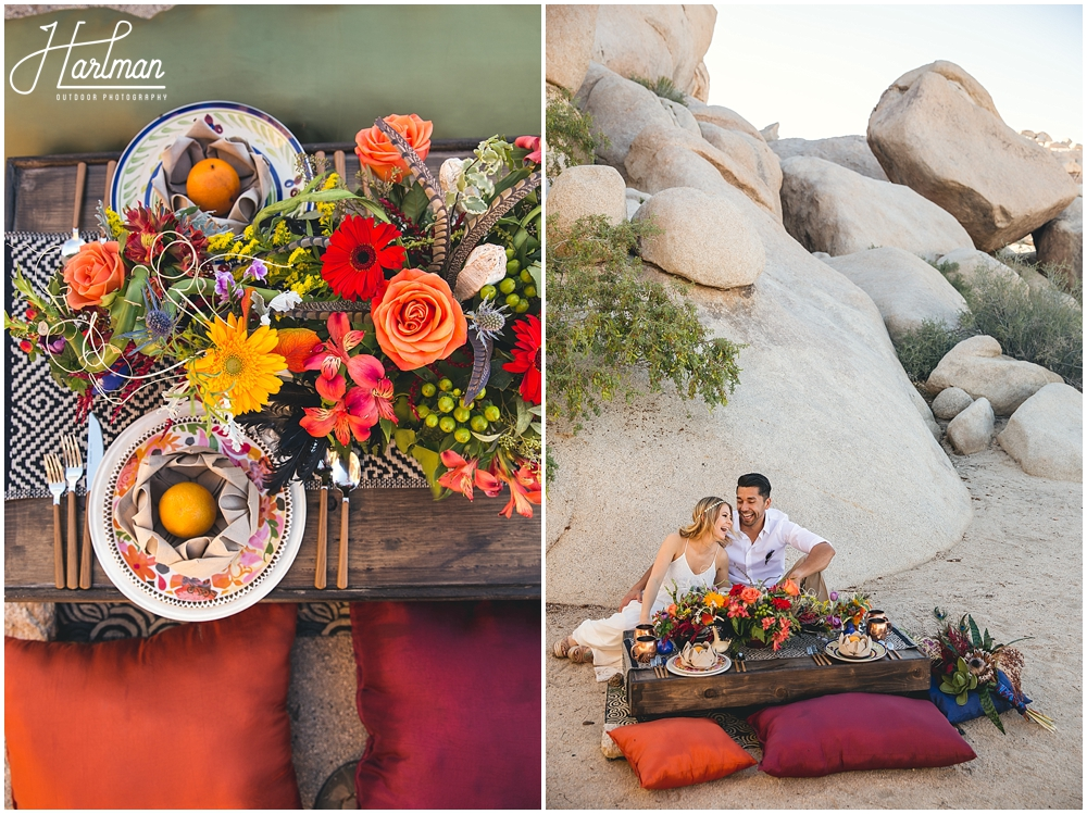 Colorful Festival Themed Wedding