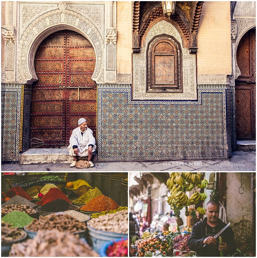 Morocco Travel Photos Fes Medina