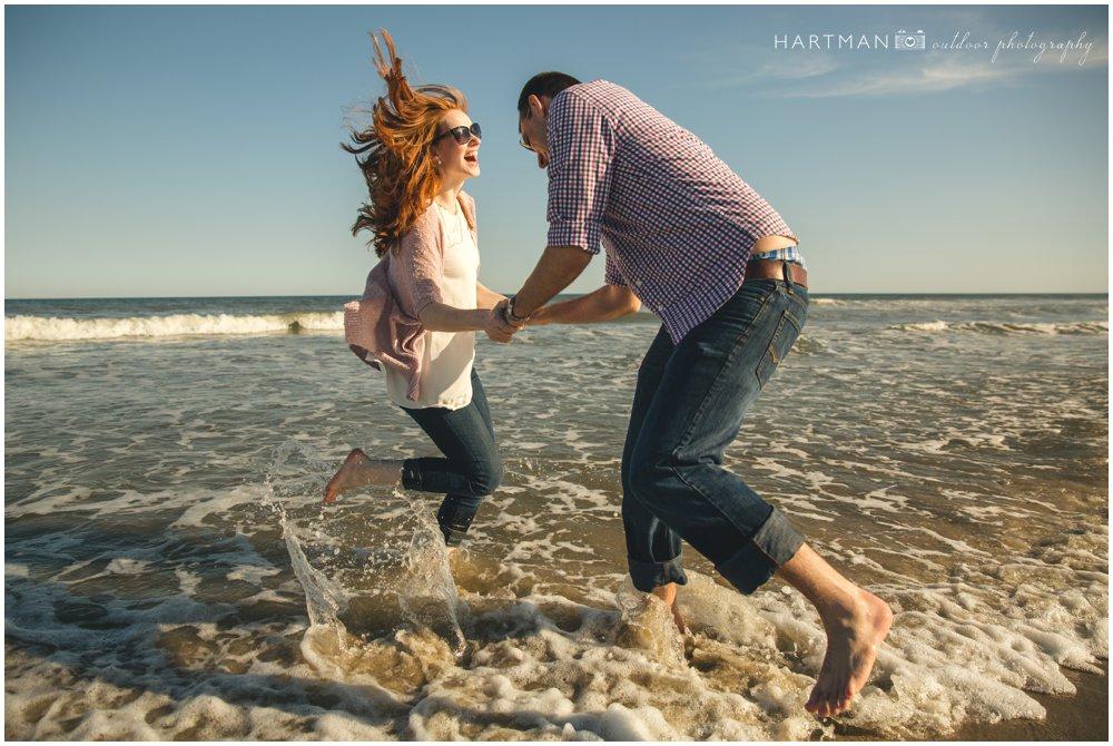 Ocracoke Beach Engagement 000057